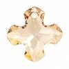 Swarovski Pendant 6926 Rhombus 26mm Crystal Aurora Borealis 1Pc